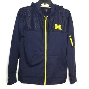University of Michigan M Hooded Jacket Full Zip